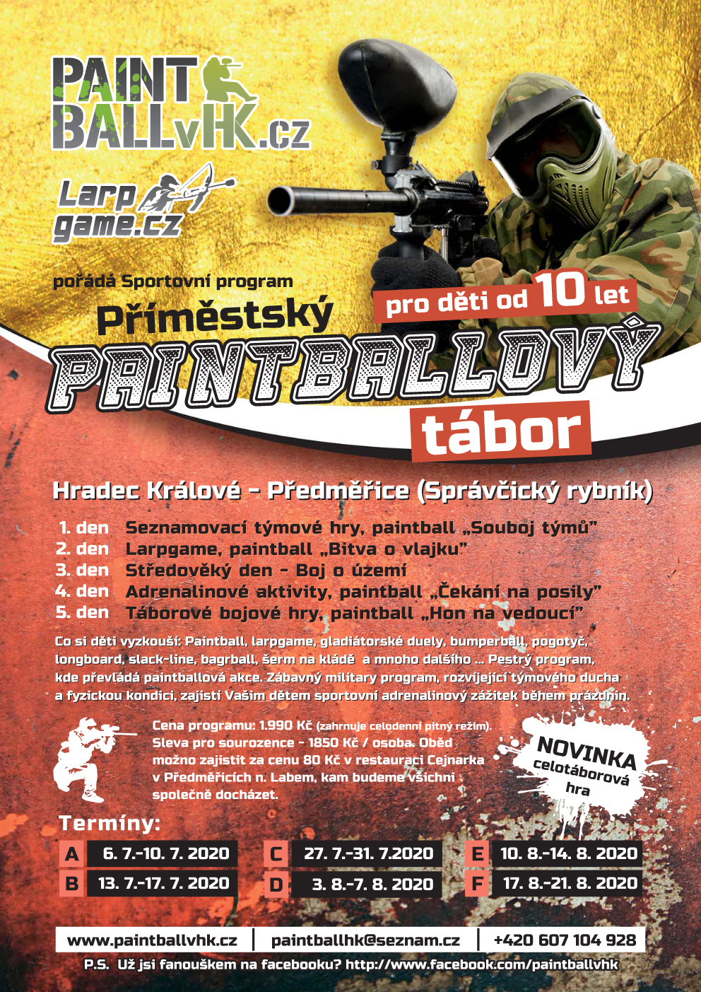 Paintball - Festival park